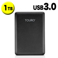 HGST ポータブルHDD1TB 0S03805 Touro Mobile