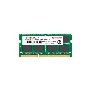 トランセンド(Transcend) SO DIMM ノートPC用 DDR3-1333 PC3-10600 8GB TS1GSK64V3H