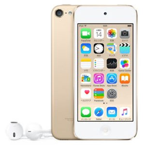 Apple iPod touch 64GB ゴールド 第6世代 MKHC2J/A