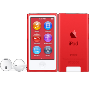 Apple iPod nano (PRODUCT)RED 16GB レッド 第7世代 MKN72J/A