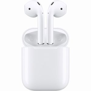 Apple AirPods ワイヤレスヘッドフォン MV7N2J/A AirPods with Charging Case 第2世代