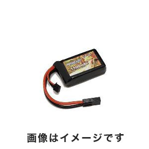 オプションNo.1 OPTION No.1 BIG POWER LIPO 1100mAh 11.1V PEQインタイプ GB-0027M