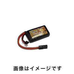 オプションNo.1 OPTION No.1 BIG POWER LIPO 1100mAh 7.4V PEQインタイプ GB-0028M
