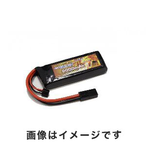 オプションNo.1 OPTION No.1 BIG POWER LIPO 2000mAh 7.4V GB-0010M