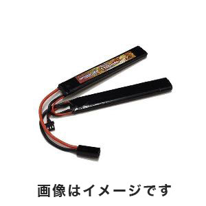 オプションNo.1 OPTION No.1 BIG POWER LIPO 1100mAh 7.4V サドルパック GB-0009M