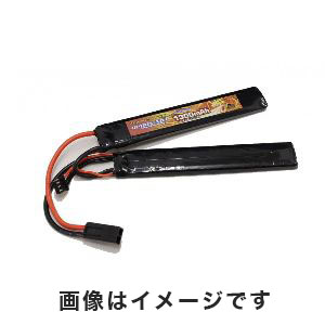 オプションNo.1 OPTION No.1 HIGH POWER LIPO 1300mAh 7.4V サドルパック GB-0022M