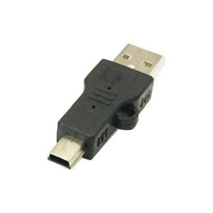 変換名人 変換プラグ USB A type→mini 5pin USBA-M5AN