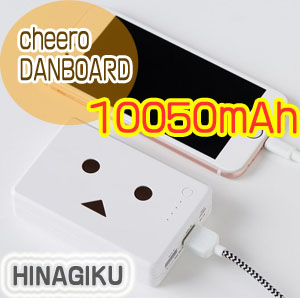 チーロ cheero モバイルバッテリー cheero Power Plus 10050mAh DANBOARD version - FLOWERS - CHE-066-HGHINAGIKU