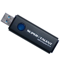 SuperTalent 【USB3.0メモリー 128GB】ST3U28ES12