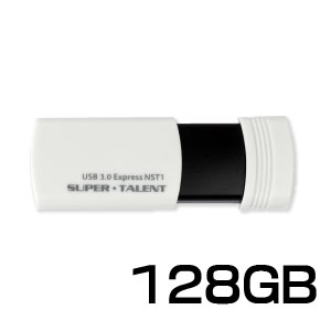 SuperTalent 【USB3.0メモリー 128GB】ST3U28NST1