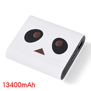 チーロ cheero cheero Power Plus DANBOARD version 13400mAh Panda White CHE-097-PA