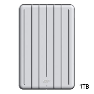 シリコンパワー silicon power Portable SSD Bolt B75 外付けSSD 1TB SP010TBPSDB75SCS
