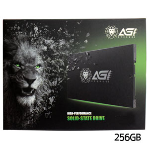 AGI SSD 256GB SSD 2.5inch SATA AGI256G06AI138 R/W speed is  556/515 MB/S