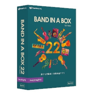 イーフロンティア Band-in-a-Box 22 for Mac EverythingPAK PGBBMEM111