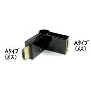 COMON Adapter HDMI Atype オス/メス 180° A-MFT