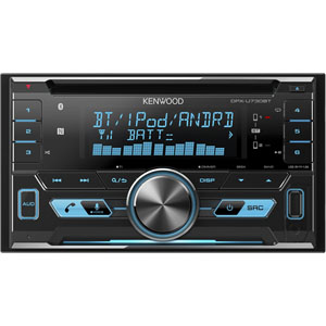ケンウッド(KENWOOD) CD/USB/iPod/Bluetoothレシーバー MP3/WMA/AAC/WAV/FLAC対応 DPX-U730BT