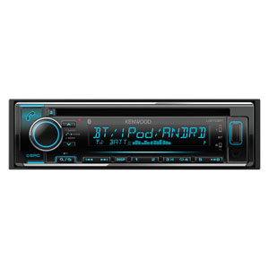 ケンウッド(KENWOOD) CD/USB/iPod/Bluetoothレシーバー MP3/WMA/AAC/WAV/FLAC対応 U370BT