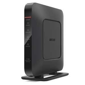 バッファロー BUFFALO AirStation HighPower Giga WSR-1166DHP3-BK(ブラック)