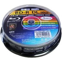 ハイディスク HI DISC HDBD-RDL6X10SP (BD-R DL 6倍速10枚)