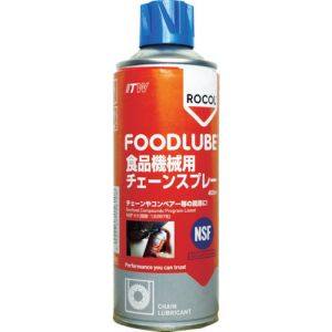 ITWパフォーマンスポリマーズ&フルイズジャパン デブコン Devcon FOODLUBE 食品機械用 チェーンスプレー 400ml R15610